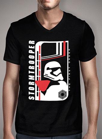 Мужская футболка с V-образным вырезом Modern Stormtrooper