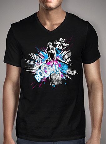 Мужская футболка с V-образным вырезом Girl Power