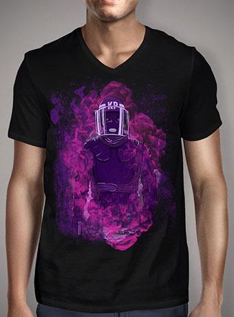 Мужская футболка с V-образным вырезом Karma Police