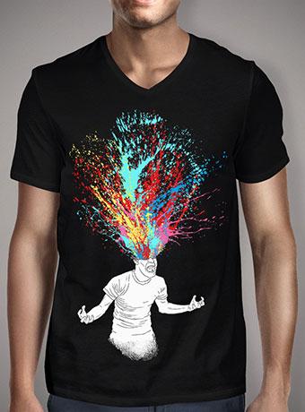 Мужская футболка с V-образным вырезом Scream Redux