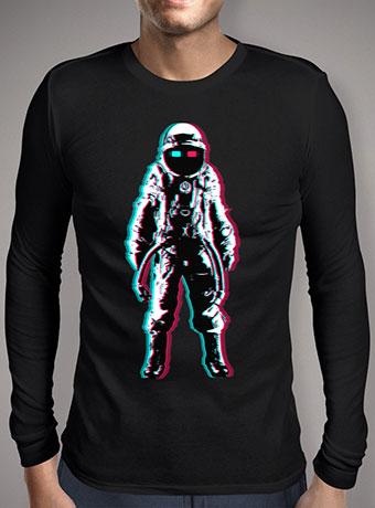 Мужская футболка с длинным рукавом Astro In 3d