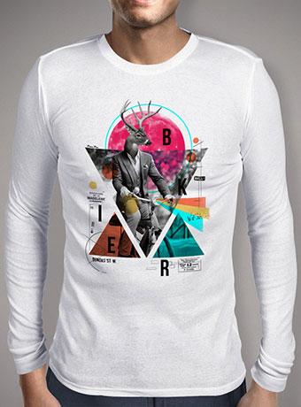 Мужская футболка с длинным рукавом Biker