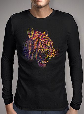 Мужская футболка с длинным рукавом Blazing Tiger
