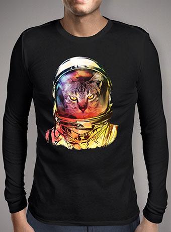 Мужская футболка с длинным рукавом Cat Invasion