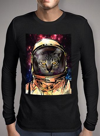 Мужская футболка с длинным рукавом Cat Invasion V2