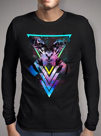 Мужская футболка с длинным рукавом Code X