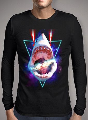 Мужская футболка с длинным рукавом Cosmic Shark