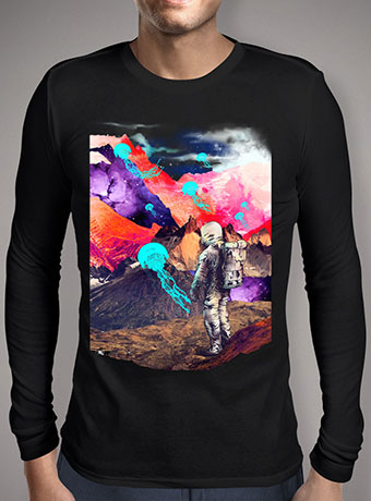 Мужская футболка с длинным рукавом Dreamscape