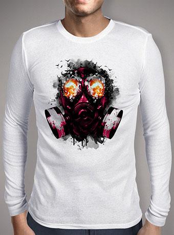 Мужская футболка с длинным рукавом Explode