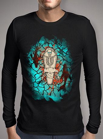 Мужская футболка с длинным рукавом Hell Yeahh V2