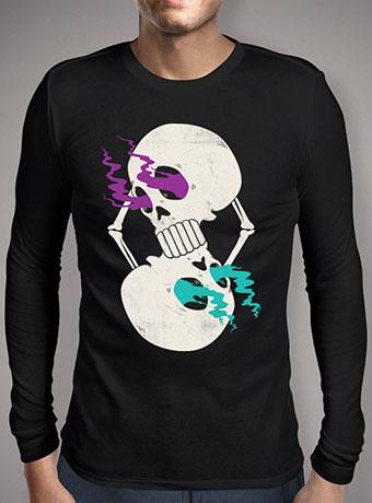 Мужская футболка с длинным рукавом Infinite Skull