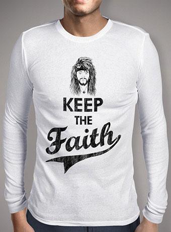 Мужская футболка с длинным рукавом Keep The Faith