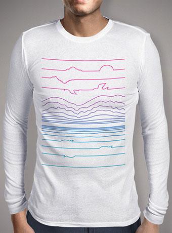 Мужская футболка с длинным рукавом Linescape