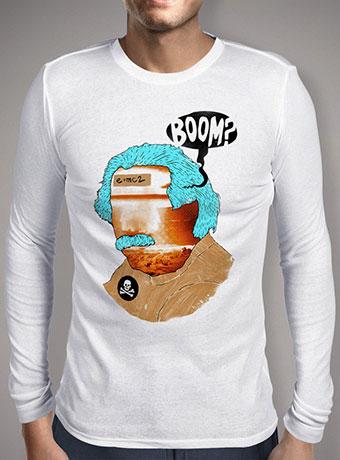 Мужская футболка с длинным рукавом Mr. Boom Man