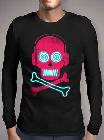 Мужская футболка с длинным рукавом Neon Pirates