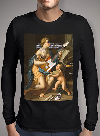 Мужская футболка с длинным рукавом Our Lady Of Rock N Roll