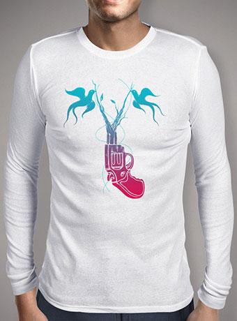 Мужская футболка с длинным рукавом Peacetol
