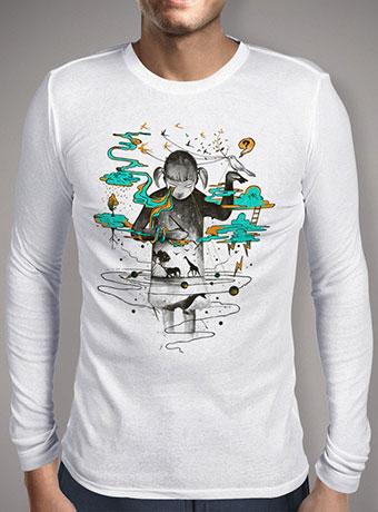 Мужская футболка с длинным рукавом Portrait