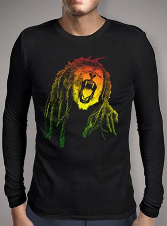 Мужская футболка с длинным рукавом Reggae Jungle