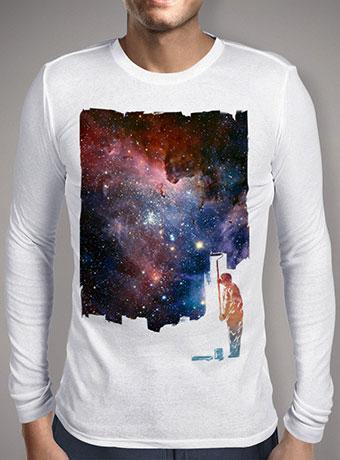 Мужская футболка с длинным рукавом Repainted