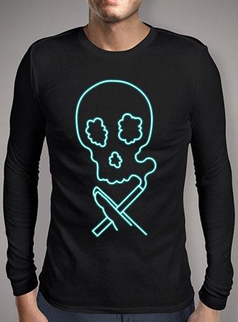 Мужская футболка с длинным рукавом Smokin