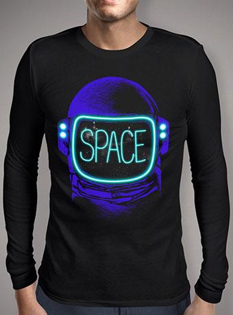 Мужская футболка с длинным рукавом Space Neon