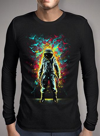 Мужская футболка с длинным рукавом Subconscious Inner Space