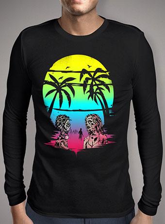 Мужская футболка с длинным рукавом Summer After The Plague