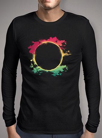 Мужская футболка с длинным рукавом The Colorful Eclipse