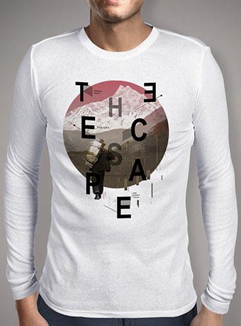 Мужская футболка с длинным рукавом The Escape