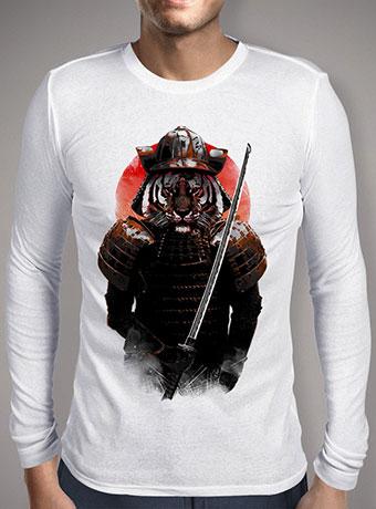 Мужская футболка с длинным рукавом The Furious Samurai