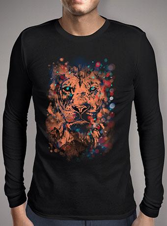 Мужская футболка с длинным рукавом The Lion Whisperer