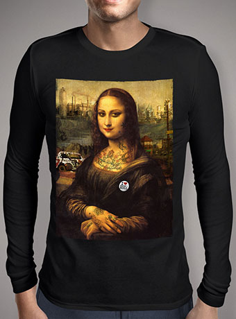 Мужская футболка с длинным рукавом The Modern Mona