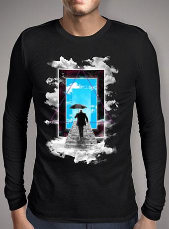 Мужская футболка с длинным рукавом The New World