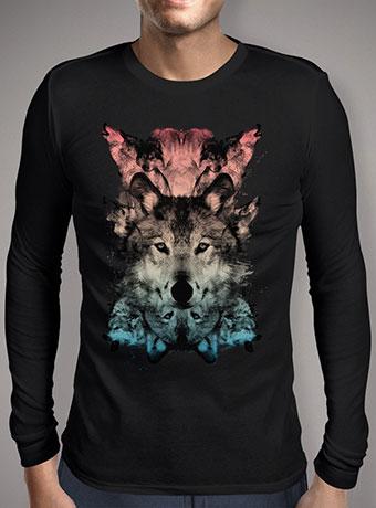 Мужская футболка с длинным рукавом The Wolf