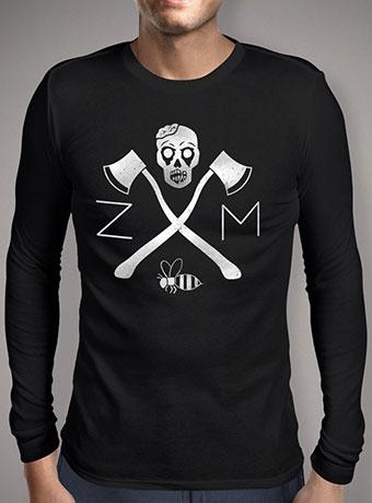 Мужская футболка с длинным рукавом Zombie