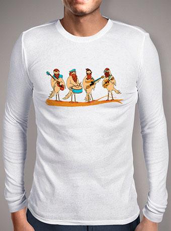 Мужская футболка с длинным рукавом Beard Band