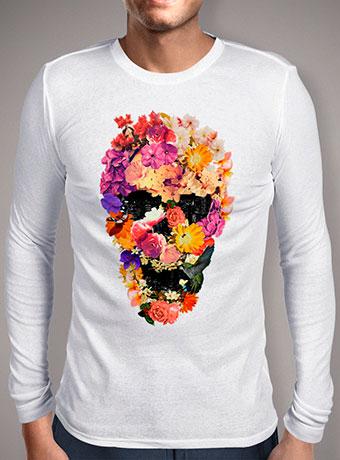 Мужская футболка с длинным рукавом Botaniskull