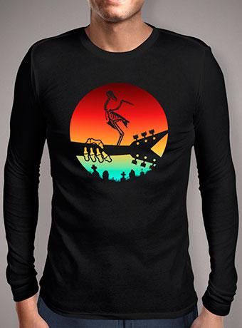 Мужская футболка с длинным рукавом Death Metal V1