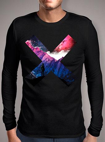 Мужская футболка с длинным рукавом Planet X