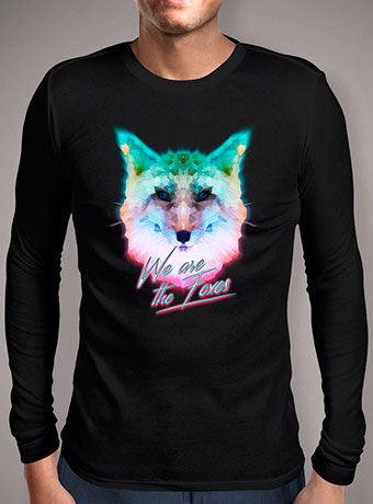 Мужская футболка с длинным рукавом We Are The Foxes V2