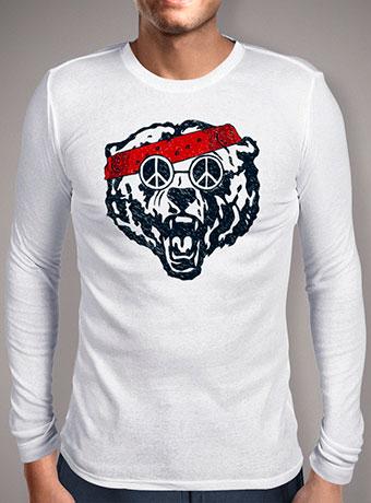 Мужская футболка с длинным рукавом Wild and Hippie