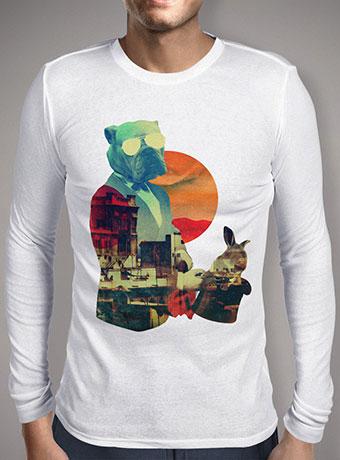 Мужская футболка с длинным рукавом Abracadabra
