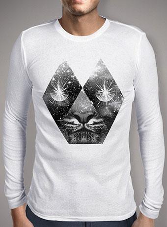 Мужская футболка с длинным рукавом Cosmic Tiger