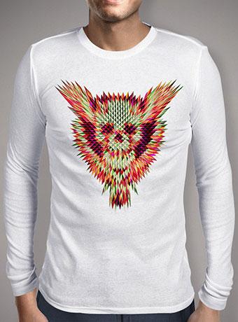 Мужская футболка с длинным рукавом Geo Skull