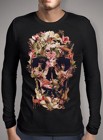 Мужская футболка с длинным рукавом Jungle Skull
