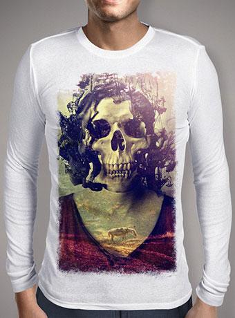 Мужская футболка с длинным рукавом Miss Skull