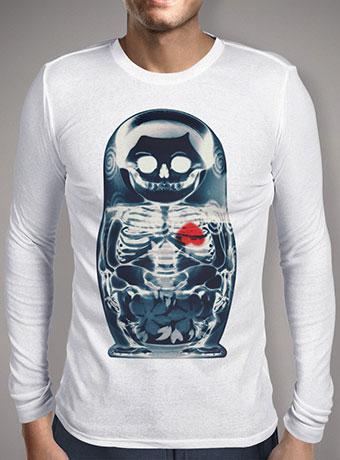 Мужская футболка с длинным рукавом Nesting Doll X-Ray