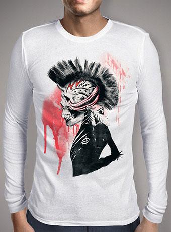 Мужская футболка с длинным рукавом Punk