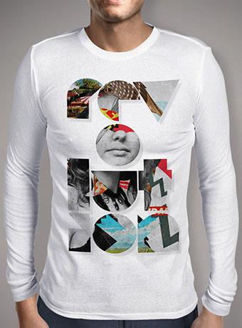 Мужская футболка с длинным рукавом Revolution